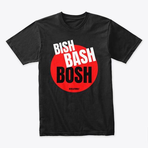 Bish Bash Bosh   Ra Red Black T-Shirt Front
