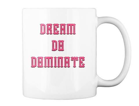 Dream Da Daminate White T-Shirt Back