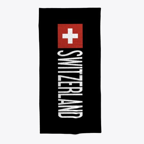 The Swiss Flag Standard T-Shirt Front