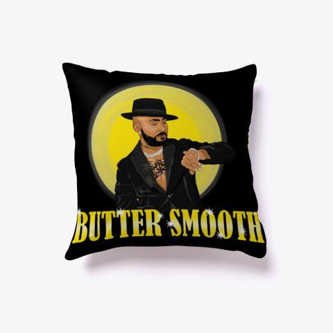Butter Smooth Pillow Black T-Shirt Front