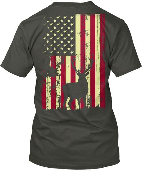 Hunting American Shirt Smoke Gray T-Shirt Back