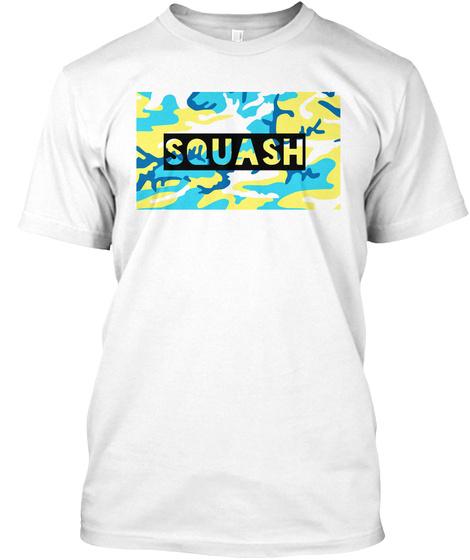 Squash White T-Shirt Front