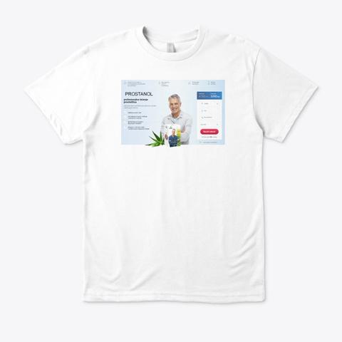 Prostanol čaj Recenzije Cijena Kupiti White T-Shirt Front