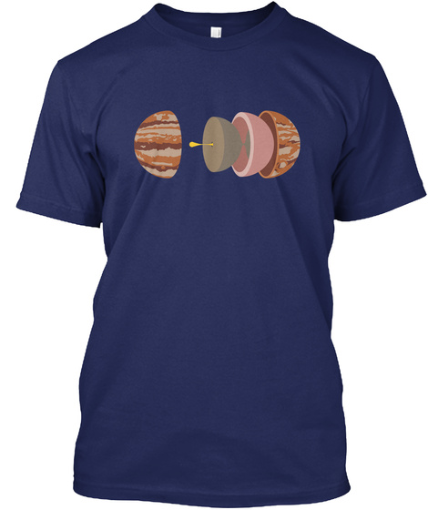 Layers Jupiter H [Usa] #Sfsf Midnight Navy T-Shirt Front