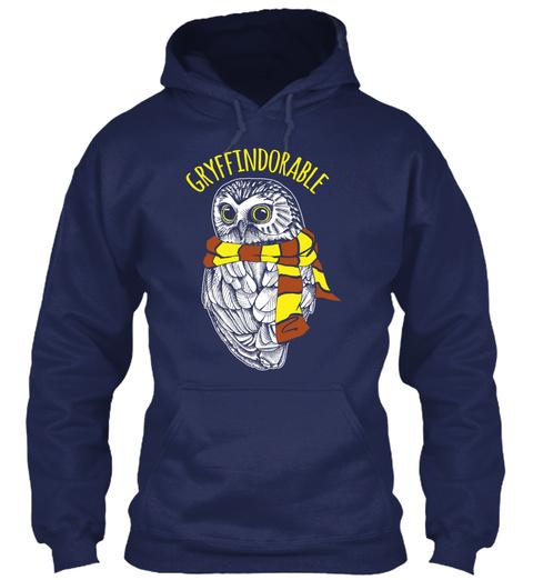 Gryffindorable Navy Sweatshirt Front