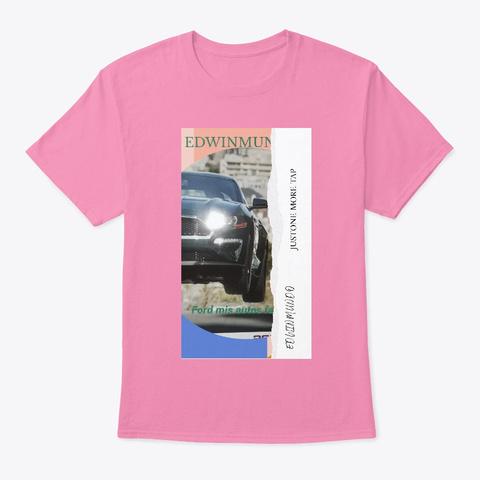 Tienda Edwinmundo Pink T-Shirt Front