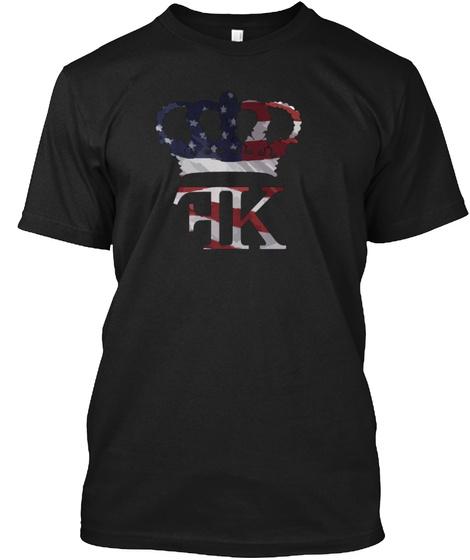 Fk Black T-Shirt Front