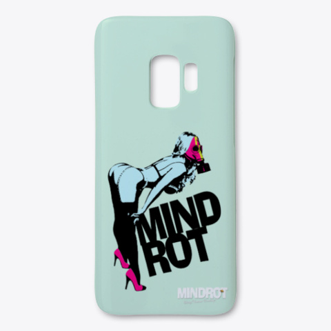 "Mind Rot Clothing ""Pin Up Girl "" Mint T-Shirt Front"