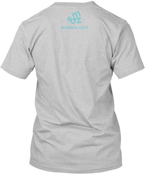 Tetris Guys Light Steel T-Shirt Back