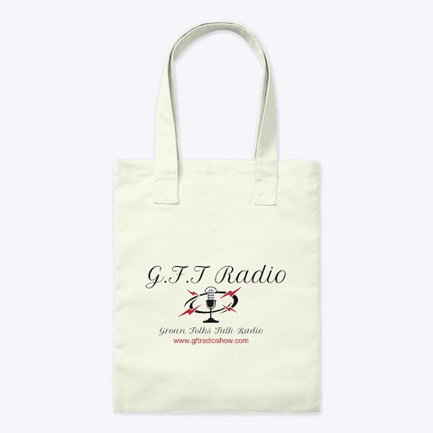 Gft Radio Bag Natural T-Shirt Front