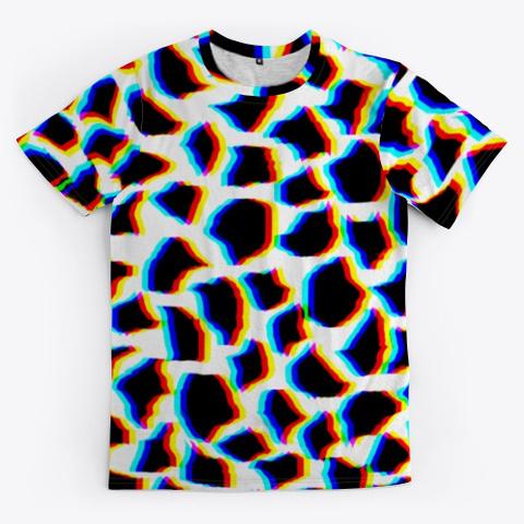 Urban Animal Print   Tee Standard Camiseta Front