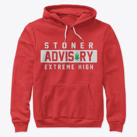 IM STONED NOT STUPID WEED HOODIE JUMPER MARIJUANA 420 CANNABIS SMOKE STONED