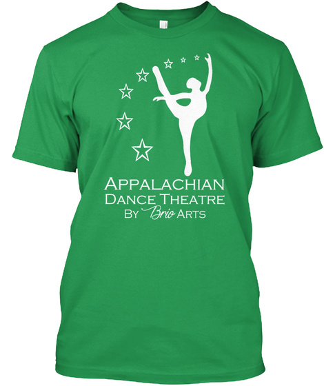 The Official Adt Shirt Kelly Green T-Shirt Front