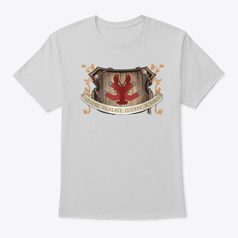 The Lobster Magnet Creed Light Steel T-Shirt Front