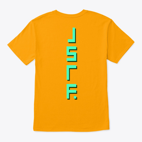 Jet Set Radio Future   Beat Gold T-Shirt Back