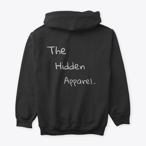 (The Hidden Soul)  Meditate  Black T-Shirt Back