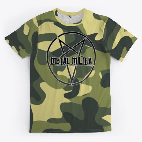 Ak 'metal Militia' T Shirt Standard T-Shirt Front
