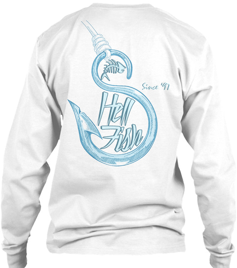 Shell Fish Since '97 White T-Shirt Back