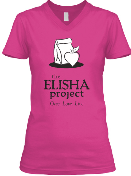 The Elisha Project Give. Love. Live. Berry Kaos Front