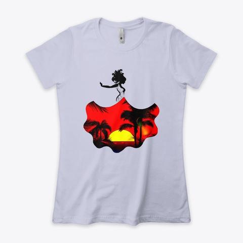 Sunset Dress Heather Gray  T-Shirt Front