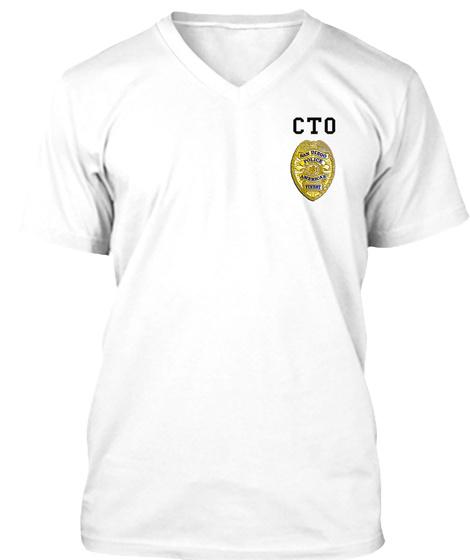 Cto White T-Shirt Front