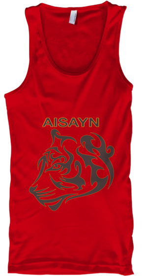 Aisayn Red T-Shirt Front