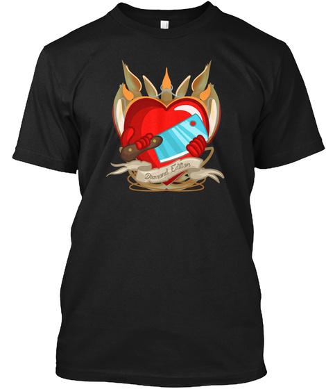 Diamond Edition Black T-Shirt Front