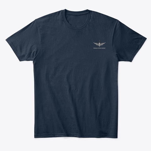 Pdc Rescue Shirt Men's 1 New Navy T-Shirt Front