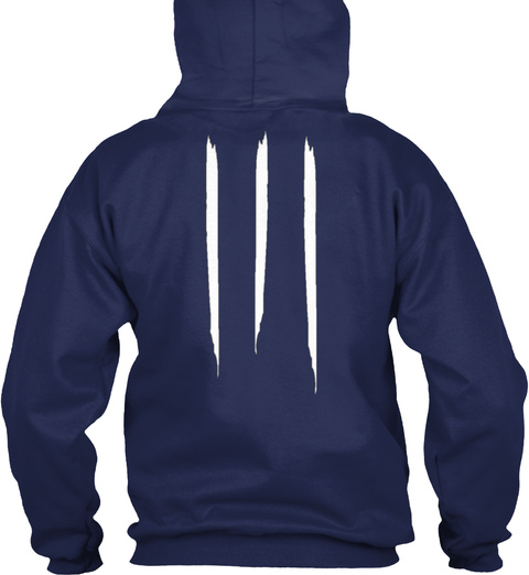 Promotion Hoodie Og Navy T-Shirt Back