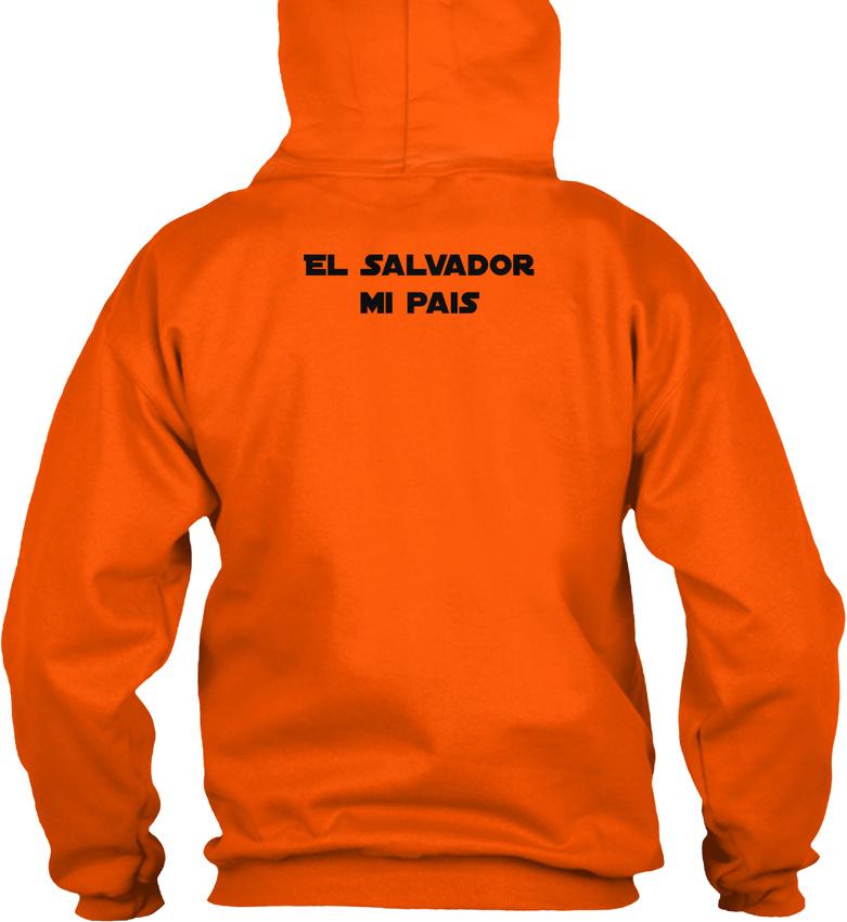 El-Salvador-Mi-Pais-Republica-De-En-La-America-Gildan-Hoodie-Sweatshirt thumbnail 6