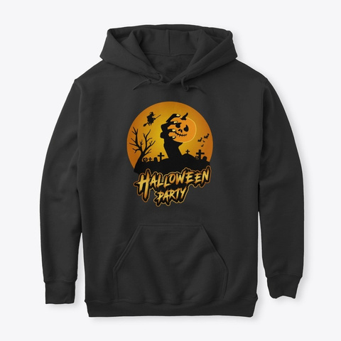 Halloween Party  Best Halloween Shirt Black T-Shirt Front