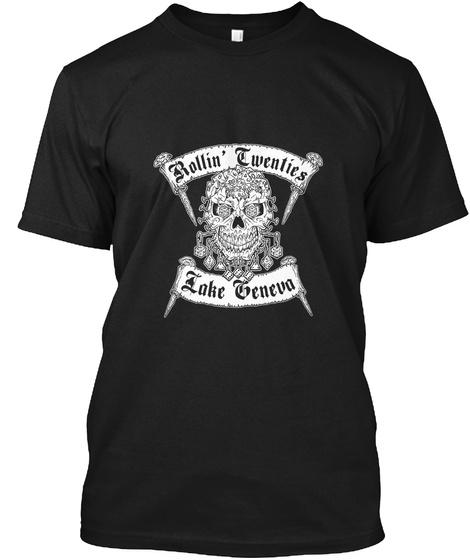 Rollin' Twenties Lalke Geneva Black T-Shirt Front