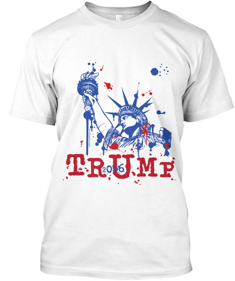 Trump 2016 White T-Shirt Front