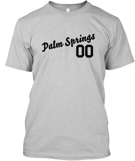 Palm Springs Varsity Legend Light Steel T-Shirt Front