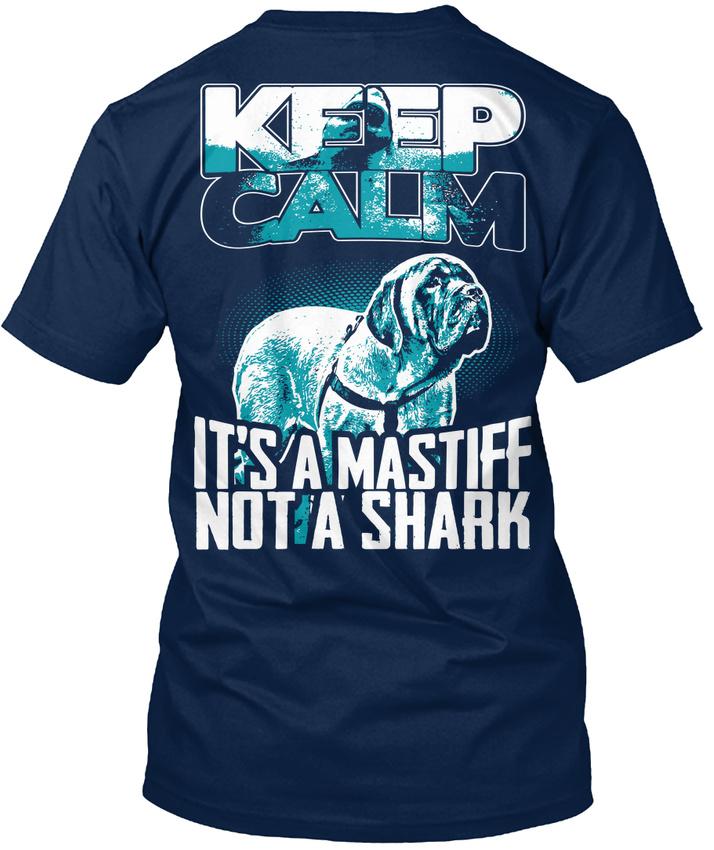 Mastiff-Lover-Not-A-Shark-Eu-T-shirt-Elegant-S-5XL
