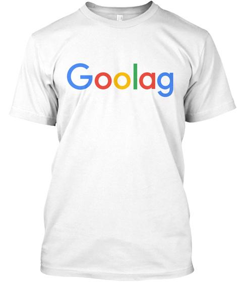 Goolag White T-Shirt Front