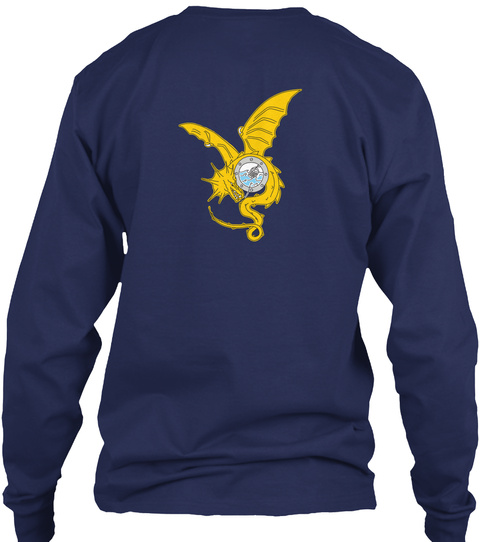 Go Ship P06 W Swag (Updated) Navy T-Shirt Back