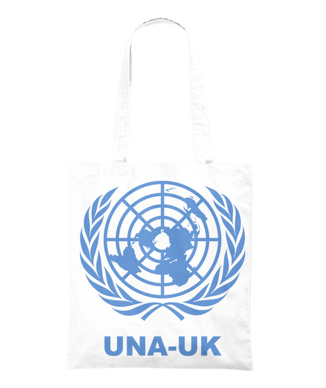 Universal Declaration Of Human Rights  White Tote Bag Back