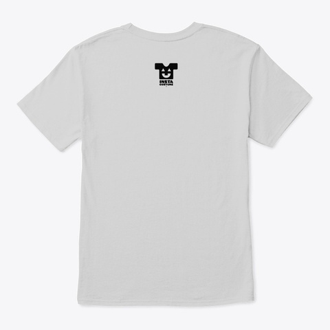 Upstairs For Rent   Style 1 Light Steel T-Shirt Back