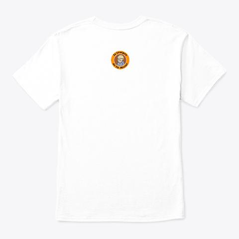 M*Cron ! Si T'es Champion... White T-Shirt Back