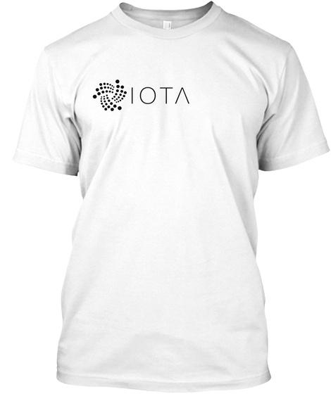 Iota Shirt White T-Shirt Front