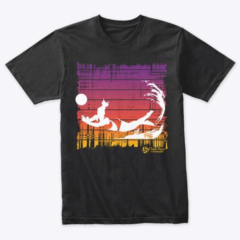 Florida Region: Dig It (Gals) Vintage Black T-Shirt Front