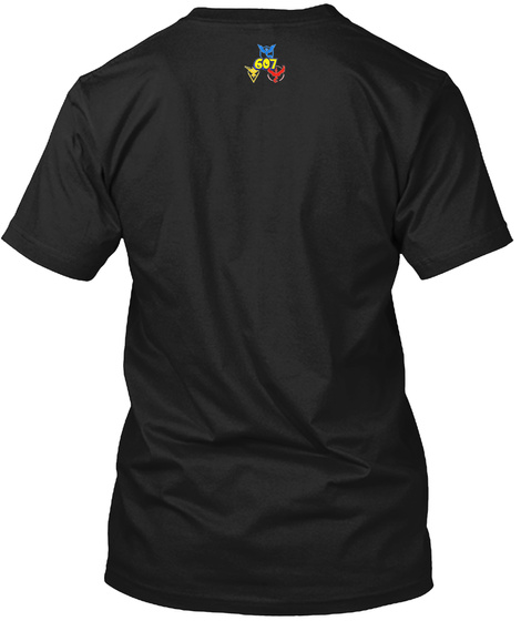 607 Black T-Shirt Back