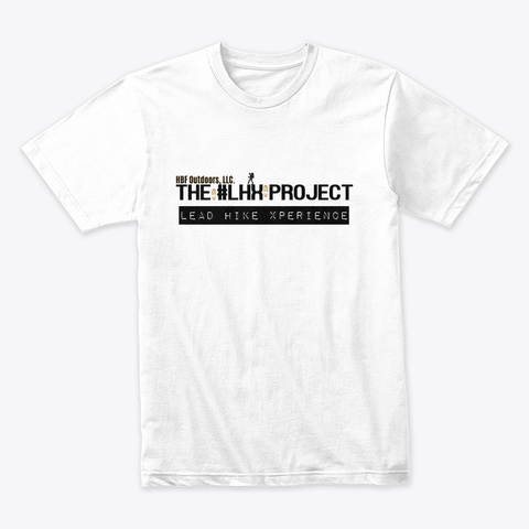 The #Lhx Project White T-Shirt Front