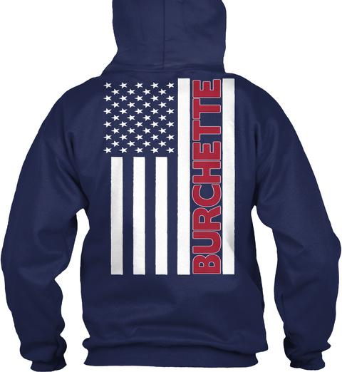 Burchette Navy T-Shirt Back