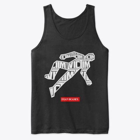 Rework Black T-Shirt Front