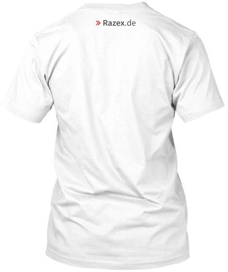 >>Razex.De White T-Shirt Back