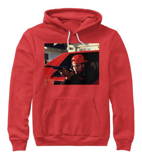 Run Rick ( Boyz N The Hood ) Red T-Shirt Front