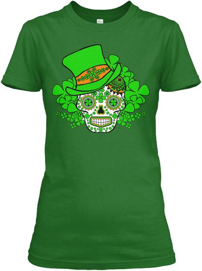 Happy St Patricks Day Irish Green Women's T-Shirt Front