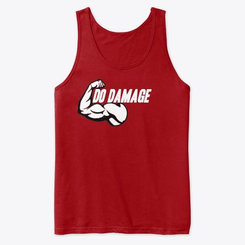 Mjg Do Damage Red T-Shirt Front